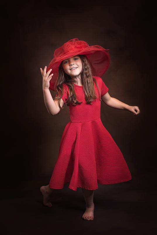 Childrens portrait photographer swindon